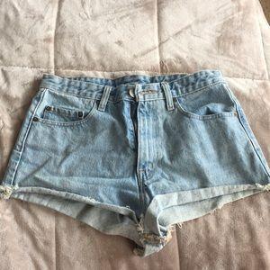 BDG cheeky high waisted shorts